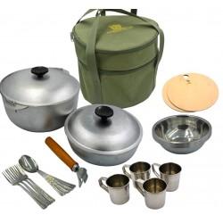 Набор для пикника (сумка с посудой на 4 персоны) Acropolis СДП-2
