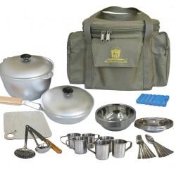 Набор для пикника (посуда на 6 персон и сумка с термоотделом) Acropolis СДП-1