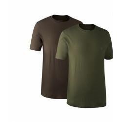 Комплект футболок DeerHunter 2-Pack (331-571DH Green/Brown)