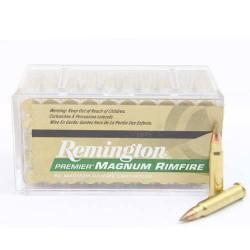 Патрон Remington Premier Magnum Rimfire кал.17 HMR пуля AccuTip-V Boat Tail масса 1,1 грамма/ 17 гран. Нач. скорость 777 м/с.