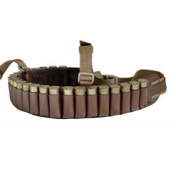 Патронташ кожаный открытый для 24патронов кал. 12/16 М91.
