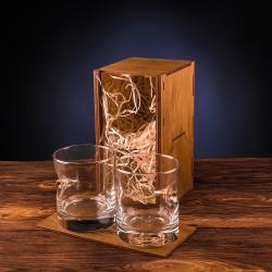 Набор из двух стаканов с настоящей пулей 7.62мм