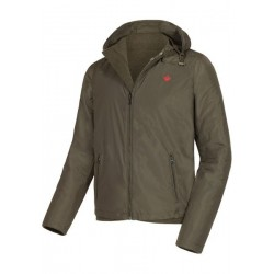 Куртка Hallyard Nova двусторонняя Цвет - коричневый/темно-зеленый