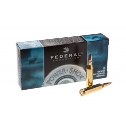 Патрон нарезной Federal Power-Shok 243win SP 5,18гр (80GR)