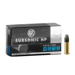 Патрон RWS Subsonic HP кал .22 LR куля LHP маса 40 гр (2.6 м)