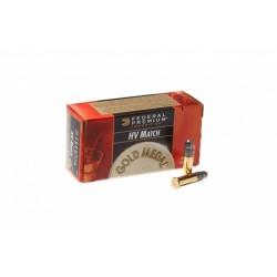 Патрон нарезной Federal Gold-Medal 22LR Solid 2,59гр (40GR)
