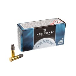 Патрон нарезной Federal Champion Target 22LR Solid 2,59гр