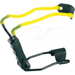 Рогатка Man Kung MK-T1 с упором ц: черный / желтый