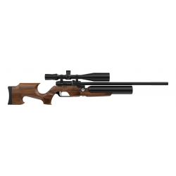 Пневматическая PCP винтовка Aselkon MX6 Matte Black кал. 4.5 дерево