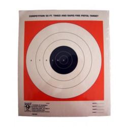 Мишень пистолетная Hoppe's 27х31, 20шт. в упаковке
