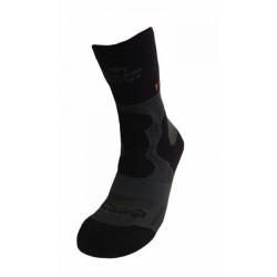 Носки Tramp Outdoor Trekking Wool серый/черный