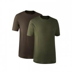 Футболка Deerhunter набор 2 шт. (зеленая+коричневая)
