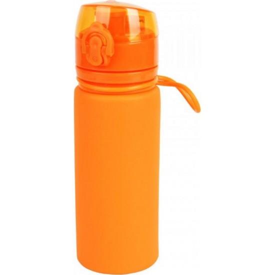 Пляшка силікон 500 мл помаранчева Tramp