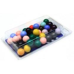 Шарики для рогаток (пластик)