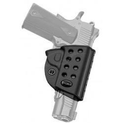 Кобура Fobus для Форт-12/14; Colt 1911 поворотная с поясным фиксатором