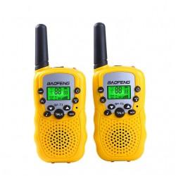 Комплект раций Baofeng BF-T3 (UHF) 3W. (желтые.)