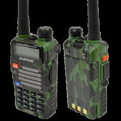 Baofeng UV-5R (VHF/UHF) 5W. Green