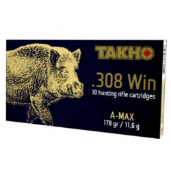 Патроны Тахо кал. 308 Win, пуля A-Max 178gr/11,6г