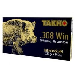 Патроны Тахо кал. 308 Win, пуля Interlock 220 gr/14,3г