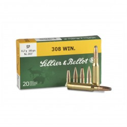 Патроны Sellier&Bellot .308Win SP 11.7g