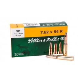 Патроны Sellier&Bellot 7.62x54R SP