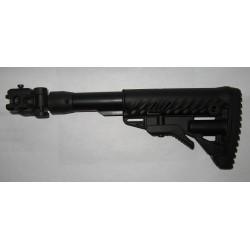 Приклад Fab Defense телескопический, складной для АК