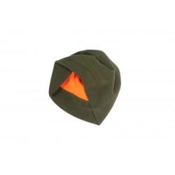 Шапка флисовая LikeProfi olive-orange