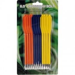 Набор пластиковых стрел МК-PL-3C (3 цвета)