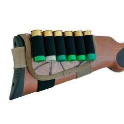 Патронташ на приклад синтетический облегченный М12