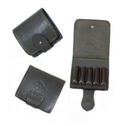 Подсумок кожаный для нарезных патронов М45