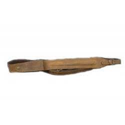 Ремень ружейный из кожи с патронташем Artipel