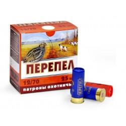 Безконтейнерный патрон Тахо Перепел, кал.12/70, дробь №9 (2,0 мм), 24 г