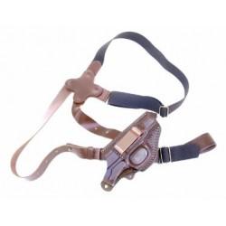 Кобура универсальная (оперативного,поясного) ношения для пистолета ФОРТ-6, ПГШ (левша)