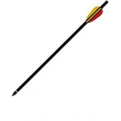 """Стрела алюминиевая 16"""" для арбалета,черная"""