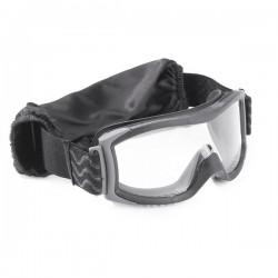 Очки тактические Bolle X1000 черные с двойными прозрачными линзами