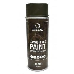 Маскировочная оружейная краска RecOil Olive HAM105, 400 мл