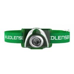 Налобный фонарь LedLenser SEO 3 Green (блистер)