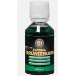 Жидкость Clever Ballistol Schnellbrunierung 50мл. для воронения, стекло