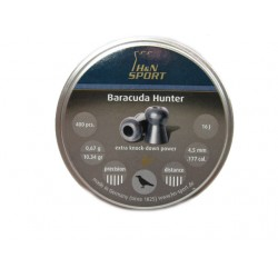 H&N Baracuda Hunter 0,67г. 4,5мм.
