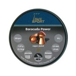 H&N Baracuda Power 1,37г. 5.5мм (200шт.)