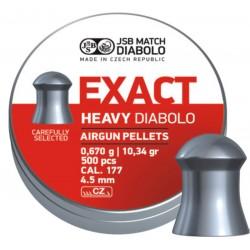 JSB Diabolo Exact Heavy 4.52мм(500шт.)