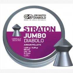 JSB Diabolo Jumbo Straton 5.5мм.1,03г.(500шт.)