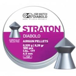 Пули пневматические JSB Diabolo Straton. Кал. 4.53 мм. Вес - 0.53 г. 500 шт/уп