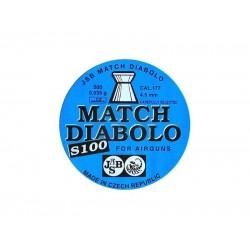 JSB Match Diabolo S100 4.51мм.0,535г. (500шт.)