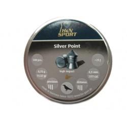 H&N Silver Point 4,5мм.0,75г.