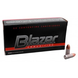 Патрон нарезной CCI Blazer FMJ 9mm 8 гр (124GR)