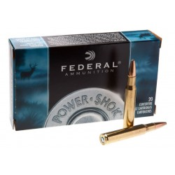 Патрон нарезной Federal Power-Shok 30-06 SP 11,66гр (180GR)