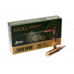 Патрон GGG k.308Win 168g (10,89г) HPBT