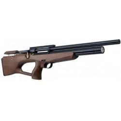 ZBROIA. Пневматическая винтовка PCP Козак 450/220 (кал. 4,5 мм, коричневый/черный)