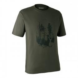 """Футболка Deerhunter """"Лесной щит"""" зеленая"""